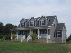 Custom modular Cape Cod home in Monroe Township NJ