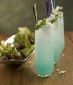 Drink recipe: Blue Thai mojito