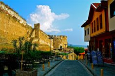Upper town of Thessaloniki