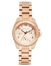 Michael Kors Blair Mini Rose Gold Watch MK5613 - Gold #watch #michaelkors #designer #covetme