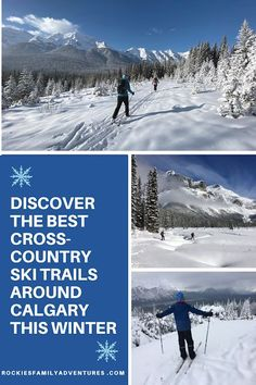 Ten fun challenges to discover the BEST cross-country ski trails around Calgary this winter! #explorealberta #skiing #winter #outdoorfamilies #Alberta #banff #kananaskis #nordicskiing #familytravel Yoho National Park, National Parks, Nordic Skiing, Ontario Travel, Forest Bathing, Canadian Travel, Ski Touring, Adventure Activities, Cross Country Skiing