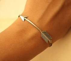 Sweet arrow bracelet. Female friend approved!