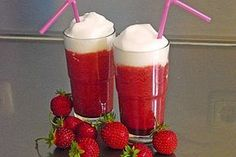 Erdbeer-Cappuccino 1