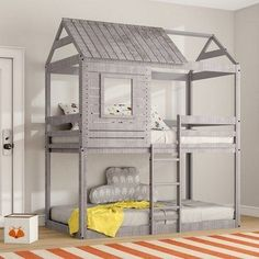 Youngsters Bedroom Furnishings – Bunk Beds for Kids Bunk Beds Boys, Low Loft Beds, Modern Bunk Beds, Bunk Beds With Stairs, Kid Beds, Unique Bunk Beds, Full Size Bunk Beds, Bed For Girls Room, Kids Bedroom