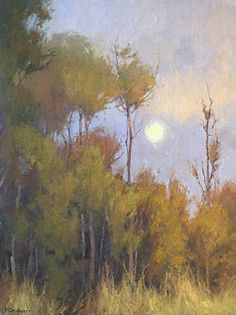 In the Gloaming by Kim Casebeer Oil ~ 24 x 18