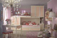 Kocca #cameretta #bambina #kids #furniture #arredamento #pink