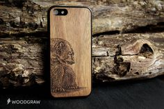 BEAR Animals Wood Case Nature iPhone Cover 6 by WOODGRAWshop
