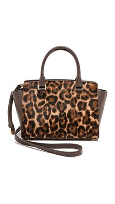 Spotted satchel by Michael Kors