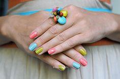 Estee Lauder: Absinthe, Coral Cult, Dilettante by sansa-beauty, via Flickr