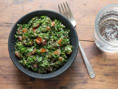 Cinnamon and allspice add distinctive flavor to this version of the classic Middle Eastern parsley salad.