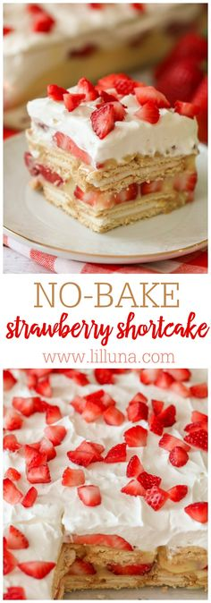 NO-BAKE Strawberry S