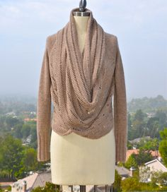 Someone teach me to knit!!  Setsuko Cardigan PDF Knitting Pattern Instant by PamPowersKnits, $7.00
