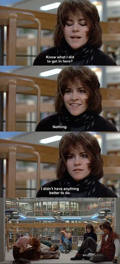 I've been told a lot that I look like Alison(Ally Sheedy) which is a huge compliment. She's gorgeous!