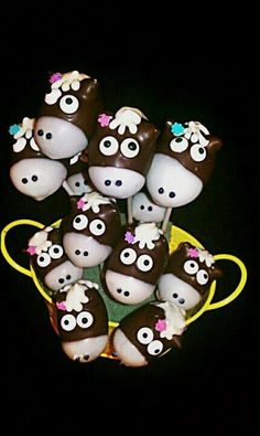 Horse cake pops by Hope