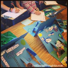 3rd Grade Thoughts: Updated Animal Research Reports + Wilderness Walk