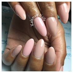 Nude nails beige And pink