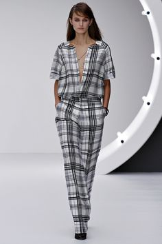 More great trousers from Topshop Unique Spring 2013 - from www.vogue.com