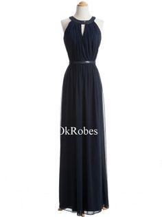 High Collar Prom Dress
