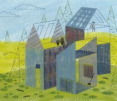 New Home by alidouglass on Etsy