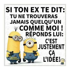 Ideas For Funny Quotes Minions Words The Words, Minion Humour, Funny Minion, Minion Words, Citation Minion, Funny Jokes For Adults, Super Funny Quotes, Boyfriend Humor, Minions Quotes