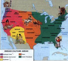 Indian Tribe Territory Map | Figure 3: U.S. Native American Tribal Map