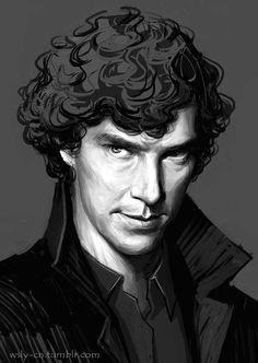 SHERLOCK! Love Benedict Cumberland!