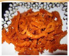 Homemade Delicacies: Butter Muruku (Instant Chakli)