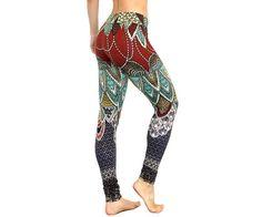 Printed art leggings Workout Leggings Swallows Yoga Pants