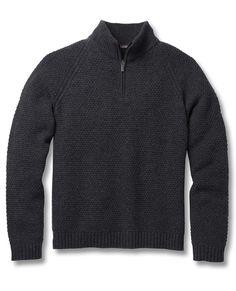 Men's Malamute Quarter Zip | 100% Merino Wool Sweater by Toad&Co