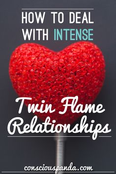 """How To Deal With Intense Twin Flame Relationships - """"If u r happy w/in self, have found purpose n r on right spiritual path, all emotions will be amplified by being w/TF. You'll work together 2 achieve your goals n make a real difference in world n your relationship will feel like ultimate blessing. If u r living a life that's not true 2 your spiritual self, u r unhappy or lonely, meeting TF is likely 2 feel more like a curse. There will be a lot of resentment, misunderstanding, n bad…"""