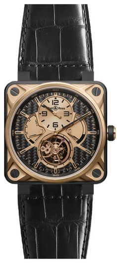 Bell & Ross Aviation BR01-TOURB-PG/CA