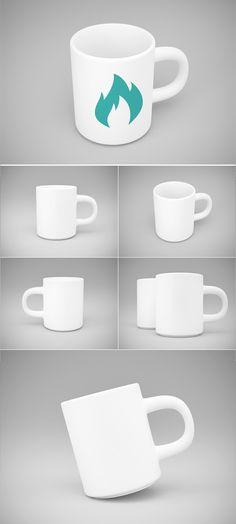 Mug MockUp PSD Template psd mockups, product mockups, presentation mockups, mockup templates