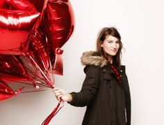 love this photo from @Madewell #balloons #winterfashion