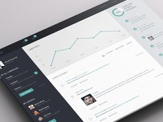 Dashboard Concept by Michał Ptaszyński for EL Passion