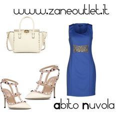 """Abito Nuvola"" by zaneoutlet on Polyvore"