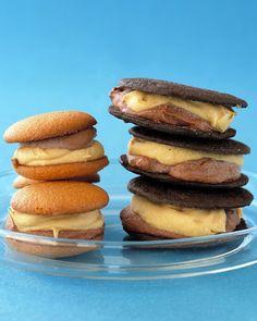 Frozen Peanut-Butter Chocolate Sandwiches