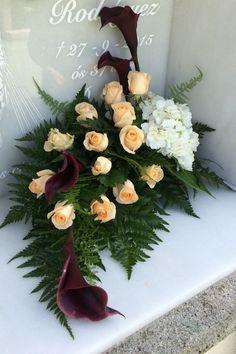 Church Flowers, Funeral Flowers, Love Flowers, Wedding Flowers, Funeral Flower Arrangements, Modern Flower Arrangements, Casket Sprays, Cemetery Flowers, Arte Floral