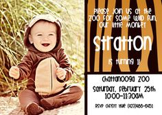 "Zoo / Birthday ""Stratton's First Birthday At The Zoo"" 
