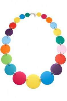 Tatty Devine for The Tate - Medium Colour Theory Link Necklace.