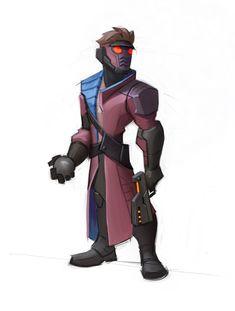 ArtStation - Star Lord for Disney Infinity 2.0 Marvel, Josh Black