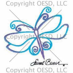 Dragonfly Outline #CC80542