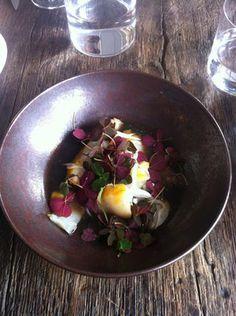 Néobistrot/ cuisine française: SEPTIME/ Halibut in a mushroom broth - Hella Yummy. | Yelp