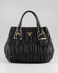 Prada Tessuto Gaufre Tote Bag - Bergdorf Goodman