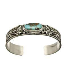 Bracelet Navajo Turquoise Royston sur Argent. I Harpo