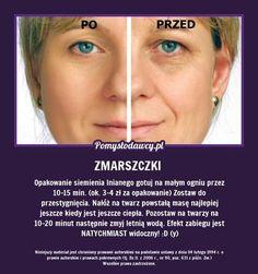 NIEZWYKŁY TRIK NA ZMARSZCZKI MIMICZNE! Beauty Care, Diy Beauty, Beauty Habits, Face Massage, Les Rides, Biologique, Natural Cosmetics, Good Advice, Face Care
