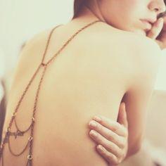 Backless dress by Sadie Williams