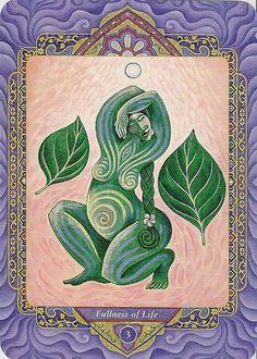 The Triple Goddess Tarot 3 card reading pdf von MagickalGoodies
