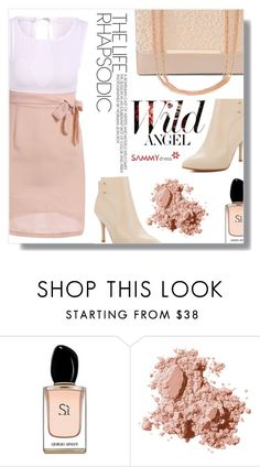 """Always and forewer"" by fashion-pol ❤ liked on Polyvore featuring Armani Beauty and Bobbi Brown Cosmetics"