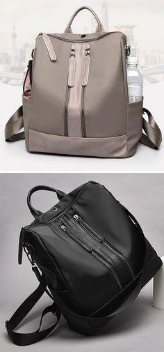 c57daad95b1 Hot Sale!Women Oxford Cloth Shoulder Bag Travel Waterproof Backpack Travel  Bags, Travel Items