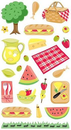 "Picnic Stickers  Picnic Stickers - 3 5/8"" x 6 7/8""     Code	6009  Brand	Stickopotamus  Size	3 5/8"" x 6 7/8""     Our price:	 AU $2.97"